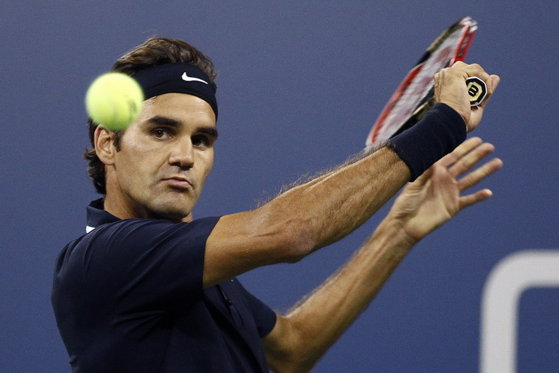 The image of the final article with heavy names in Cincinnati. Federer and Djokovic meet for the 46th time in their career