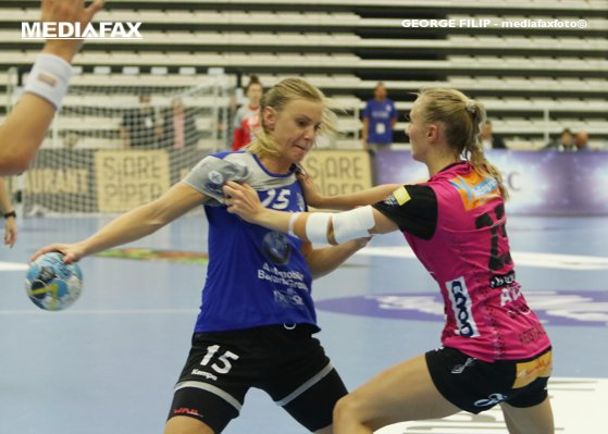 Picture of the article FTC Rail Cargo - CSM Bucharest 28-34, in groups of female league champions