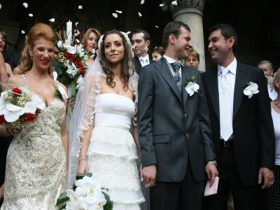 Nașii de cununie la nuntă