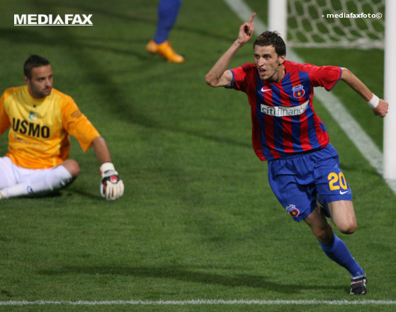 Imaginea articolului Steaua - Pandurii Tg. Jiu, scor 1-0