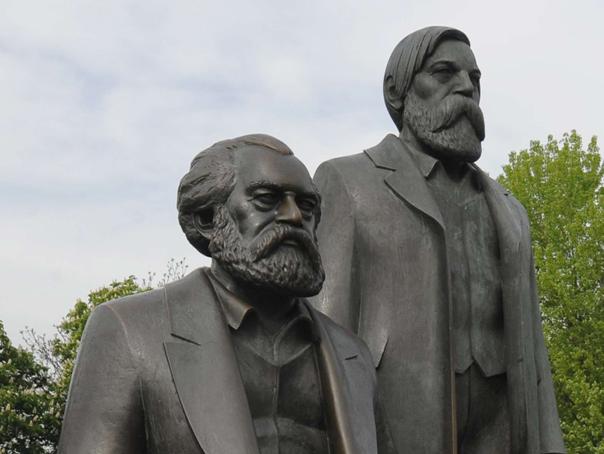 Karl Marx şi Friedrich Engels