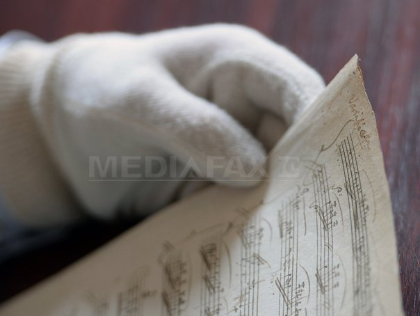 Partitura originala disparuta a Sonatei �n La major de Mozart, descoperita la Budapesta - FOTO