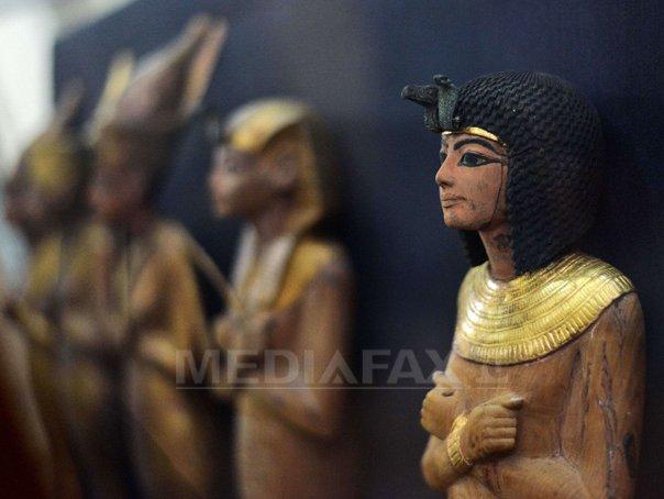 Sali dedicate faraonului Tutankhamon, renovate recent, inaugurate �n Muzeul Egiptean din Cairo - FOTO