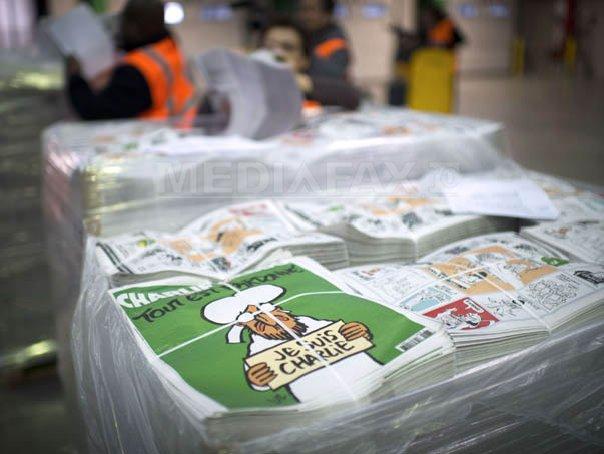 Ziare din lumea �ntreaga reproduc coperta noului numar din Charlie Hebdo