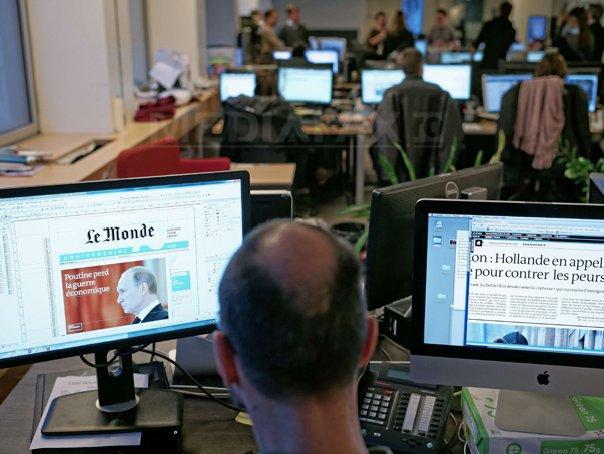 Armata electronica siriana pirateaza contul de Twitter al cotidianului francez Le Monde