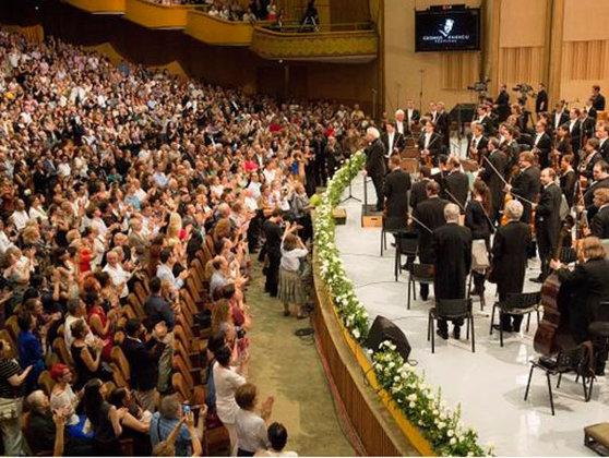 """Imaginea articolului Filarmonica din Berlin, """"cea mai bună orchestră din lume"""", va deschide Festivalul Enescu 2019"""