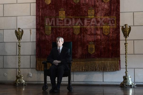 Casa Regală neagă dezvăluirile monahului Caliopie despre starea Regelui Mihai: Afirmaţiile sunt false