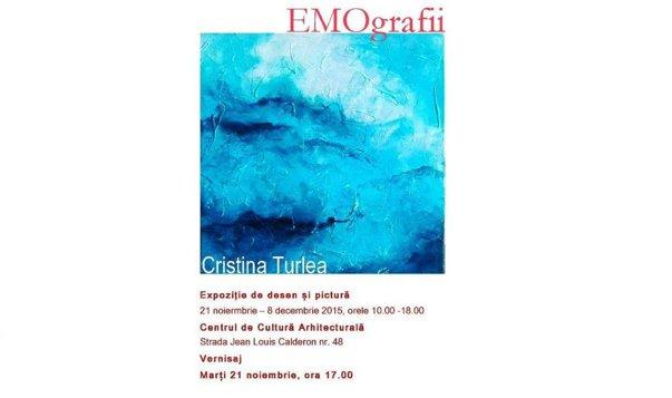 """Imaginea articolului """"EMOgrafii"""" – o nouă expoziţie semnată Cristina Ţurlea"""