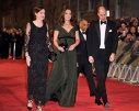Imaginea articolului Gala BAFTA 2018: Starurile, în negru pe covorul roşu: Angelina Jolie, Jennifer Lawrence sau Lupita Nyong'o, sprijin pentru Time's Up / Ducesa Kate a purtat o rochie verde închis | FOTO