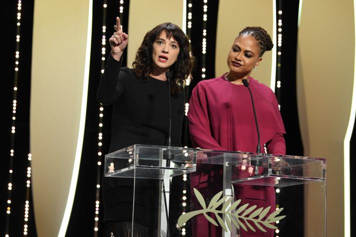 Actriţa care a şocat cu un mesaj dur la GALA de închidere a Festivalului de la Cannes: Am fost violată, aici, de Harvey Weinstein - VIDEO