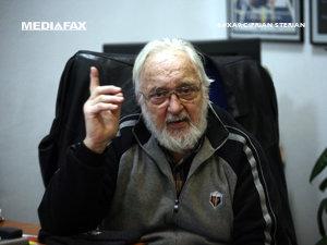 Actorul Constantin Codrescu, internat în spital (Imagine: Ciprian Sterian/Mediafax Foto)
