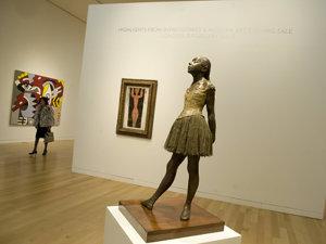 O sculptură a lui Degas a stabilit un nou record de preţ (Imagine: Mediafax Foto/AFP)