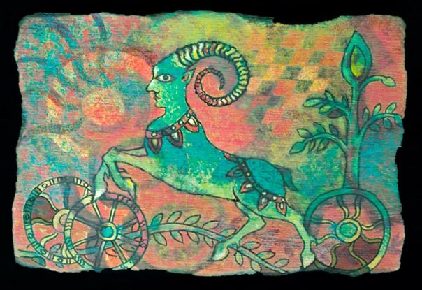 Expoziţie de pictură indiană la Muzeul Ţăranului Român din Capitală