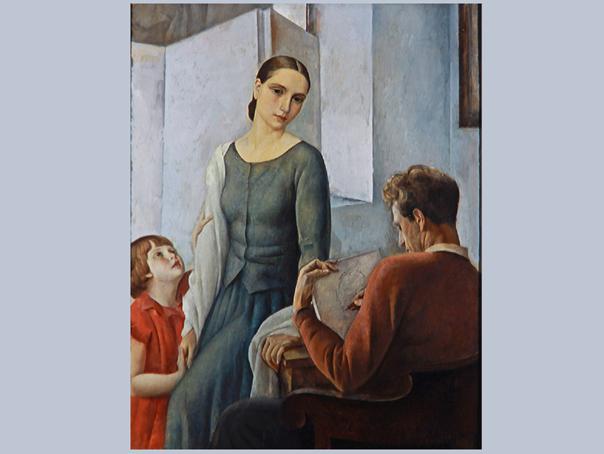 poze Expozitia Nervia 1928-1938 Pictori din anii 30 in Belgia, vernisata joi la MNAR