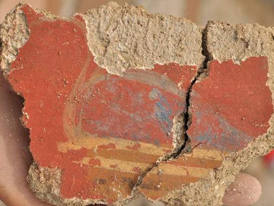 Imaginea articolului Frescă romană dintr-o fostă locuinţă de demnitar, descoperită la Sarmizegetusa