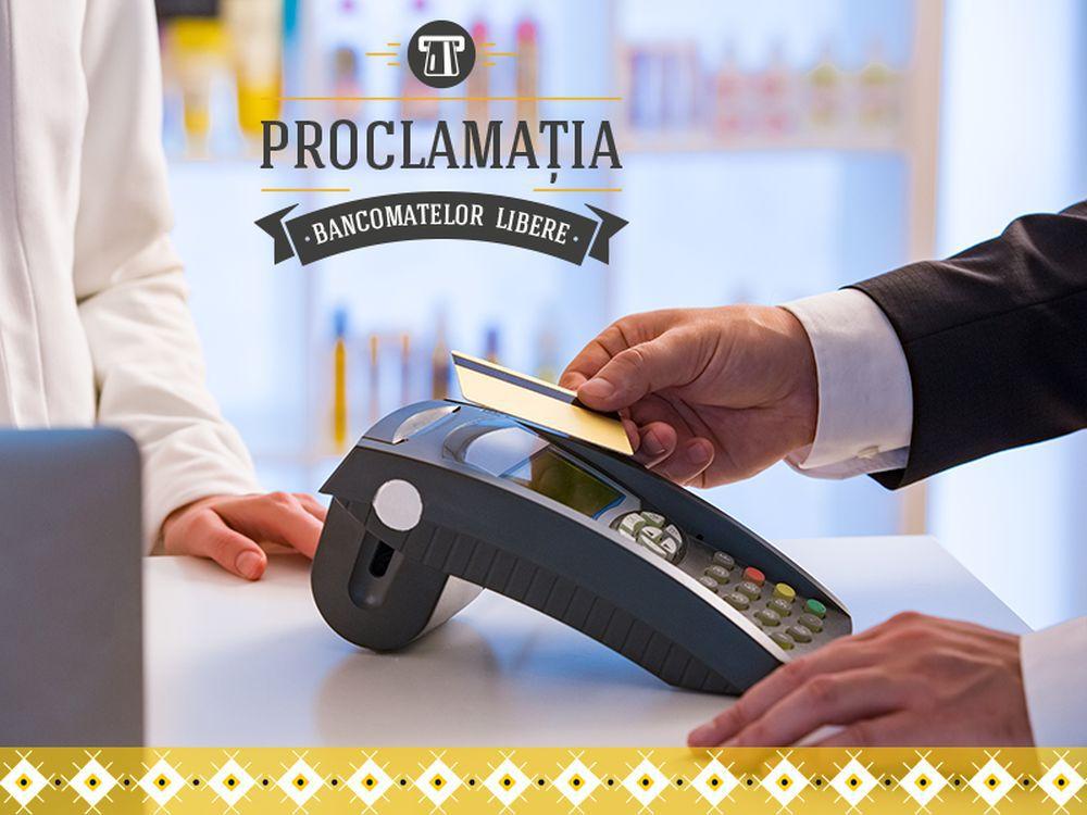 (P) Banca Românească proclamă eliberarea bancomatelor de stresul comisioanelor