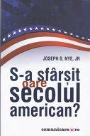 """Imaginea articolului O carte pe zi: """"S-a sfârşit oare secolul american? """", de Joseph S. Nye, Jr."""