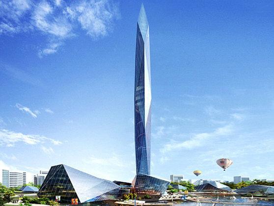 """Imaginea articolului Sud-coreenii vor avea primul turn """"invizibil"""" de pe mapamond. Construcţia va fi printre cele mai înalte zece clădiri din lume - FOTO"""