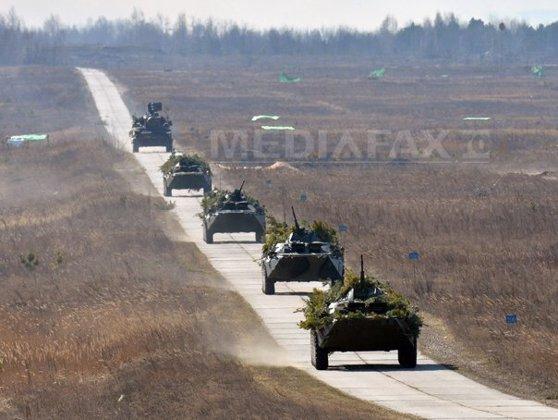 """Imaginea articolului Ministrul rus de Externe AMENINŢĂ Ucraina cu un război ca în Georgia, în 2008: Acţiunile autorităţilor de la Kiev sunt """"conduse"""" de către SUA"""
