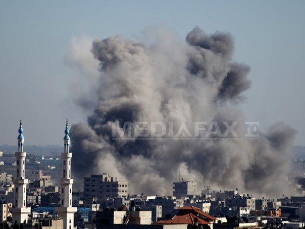 CONFLICTUL Israel - F�sia Gaza: 20 de palestinieni, ucisi �ntr-o scoala ONU bombardata de israelieni