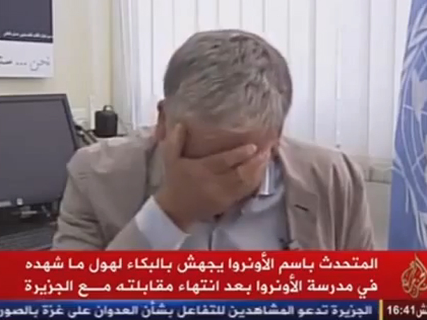 Un purtator de cuv�nt al ONU izbucneste �n pl�ns c�nd vorbeste despre copiii palestinieni ucisi �n F�sia Gaza - VIDEO