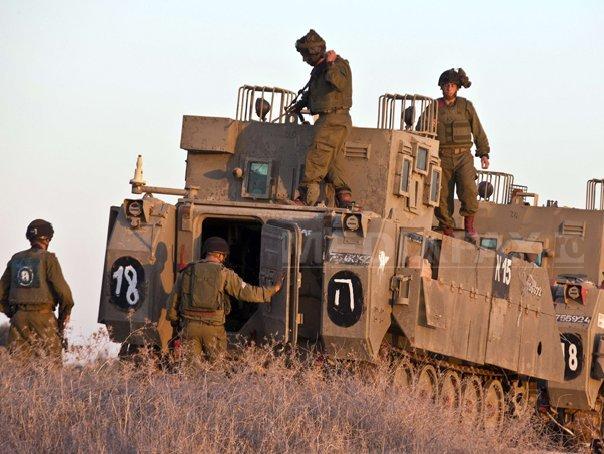CONFLICTUL Israel - F�sia Gaza: Armata israeliana mobilizeaza 16.000 de rezervisti suplimentari pentru ofensiva