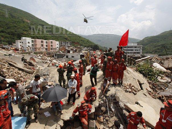Bilantul cutremurului din China a ajuns la 589 de morti