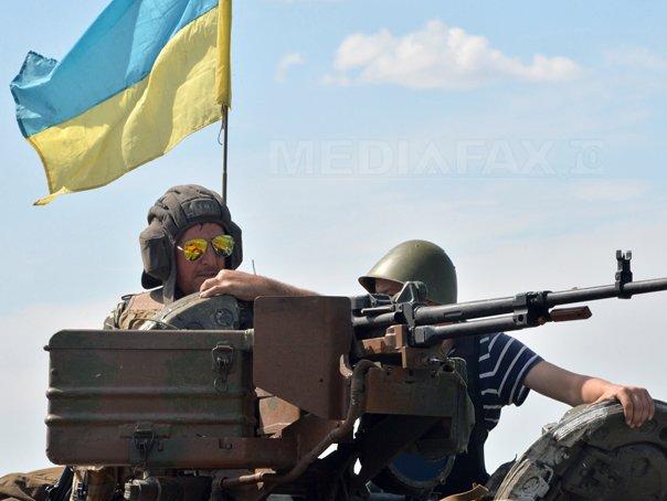 Armata ucraineana a recucerit patru localitati care erau ocupate de rebeli prorusi