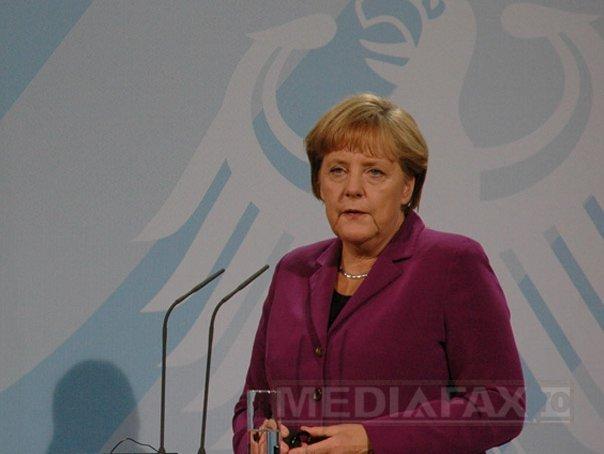 Angela Merkel se va deplasa �n Ucraina pe 23 august