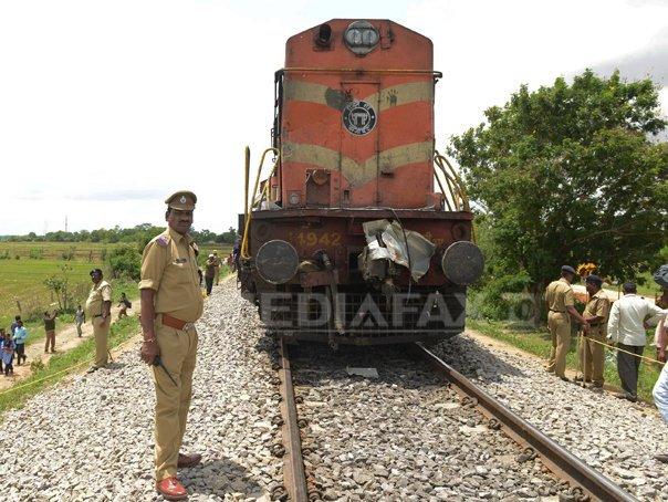 Douazeci de morti �n urma unei coliziuni �ntre un tren si o ricsa cu motor, �n India