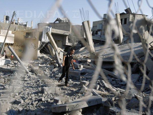 Negocierile �ntre Israel si palestinieni pentru un armistitiu durabil �n F�sia Gaza sunt �n impas