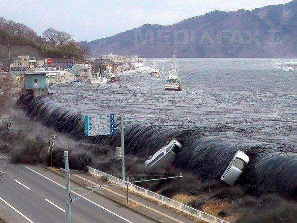 STUDIU: Risc de tsunami urias pe coasta de vest a Japoniei, unde se afla 11 centrale nucleare