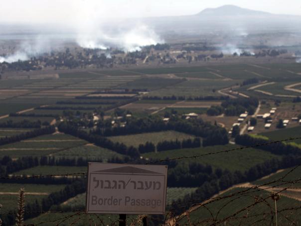 Rebelii din Siria preiau controlul asupra punctului de trecere catre Platoul Golan ocupat de Israel