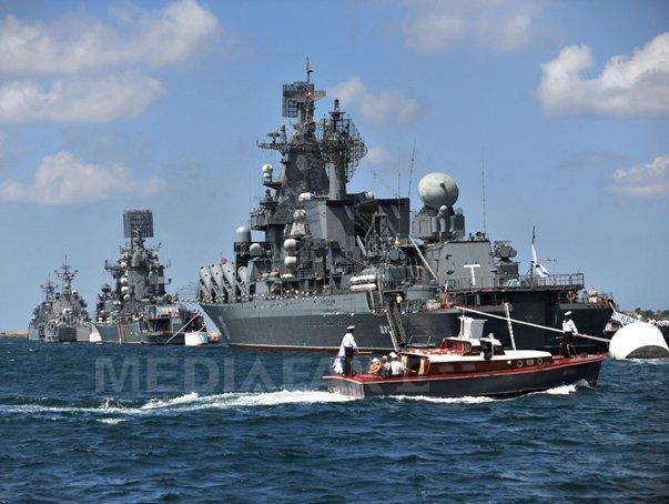 Flota rusa de la Marea Neagra va primi 11 nave militare suplimentare �n urmatoarele luni