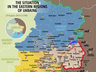 Harta care arată ADEVĂRUL despre ceea ce se întâmlă în Ucraina