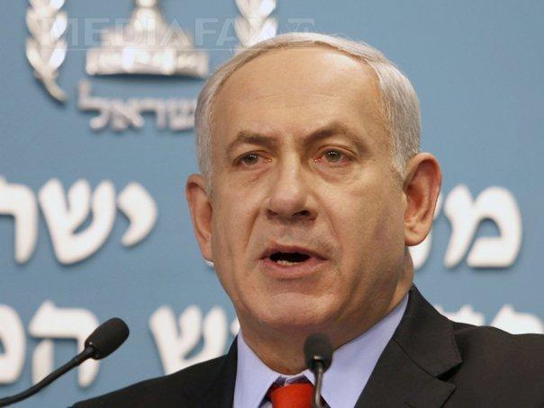Netanyahu: Israelul a �ncetat conflictul �n F�sia Gaza din cauza altor amenintari regionale