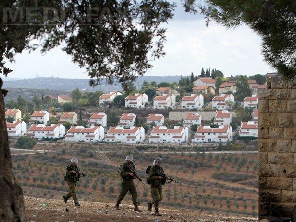 Israelul intenţionează să îşi însuşească 400 de hectare de teren din Cisiordania
