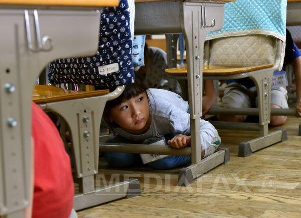 Peste doua milioane de japonezi au participat la un vast exercitiu de Ziua preventiei dezastrelor - FOTO, VIDEO