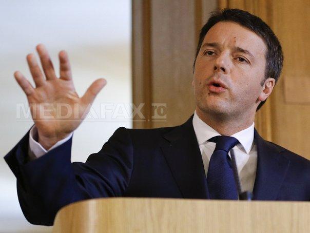 Matteo Renzi îşi schimbă strategia şi îşi alocă timp pentru a reforma Italia