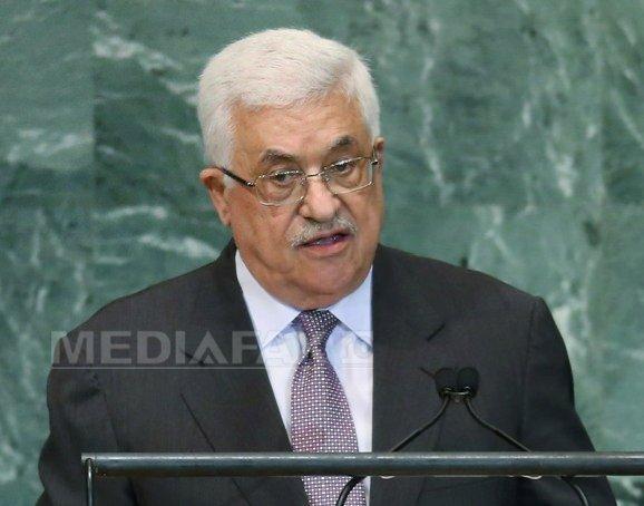 Palestina cere �ncetarea ocupatiei israeliene printr-o rezolutie a Consiliului de Securitate al ONU