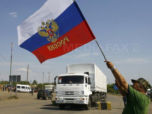 Toate vehiculele din al doilea convoi umanitar rus pentru estul Ucrainei s-au �ntors �n Rusia