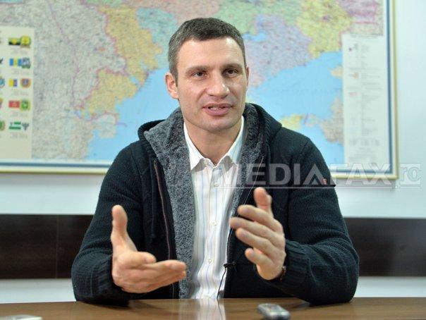 Primarul Kievului candidează primul pe lista partidului lui Poroşenko �n alegerile din octombrie