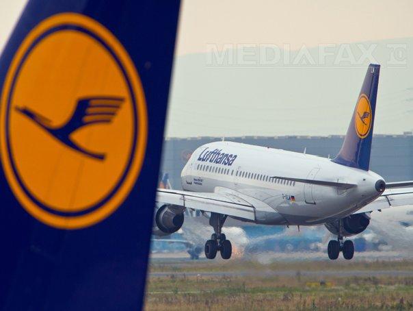 Pilotii Lufthansa intra din nou �n greva marti. Vor fi afectate zborurile de lung curier