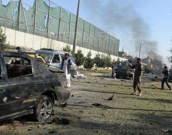 Explozie puternica �n centrul capitalei afgane