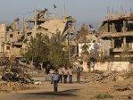 Conflictul din Fâşia Gaza: Copiii s-au întors la şcoală după războiul de 50 de zile. Cum arată şcolile distruse de bombardamente - FOTO, VIDEO