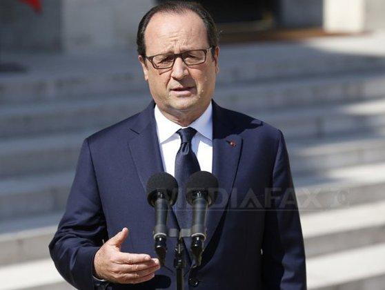 Imaginea articolului François Hollande: Franţa nu plăteşte răscumpărări şi nu face schimburi de prizonieri