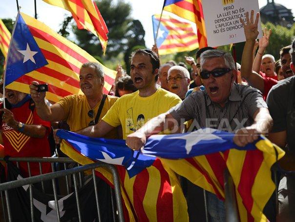 Parlamentul Cataloniei autorizeaza organizarea unei
