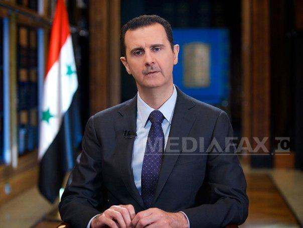 Bashar al-Assad: Ţarile care au propagat terorismul nu �l pot combate. SUA au obiective ascunse