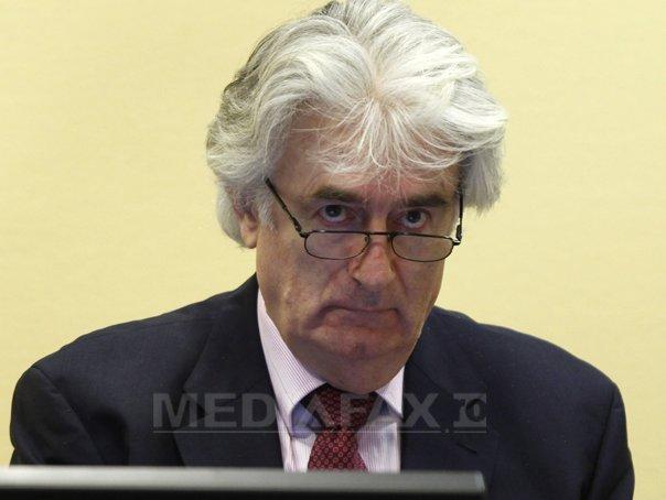 Radovan Karadzici �şi rosteşte astăzi pledoaria �n faţa Tribunalului Penal(...)