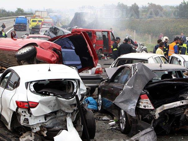 Accidentul din Grecia: Administratorul firmei care efectua lucrări pe autostrada din nordul ţării, acuzat de omor din culpă
